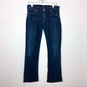 Citizens of Humanity Dark Wash Boot Cut Jeans